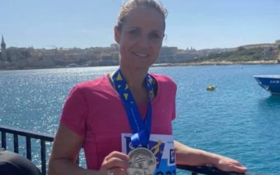 Lydie finisher à Malte – 1er Mars 2020