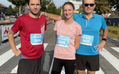 Mathilde en 56′ pour son 1er 10 KM